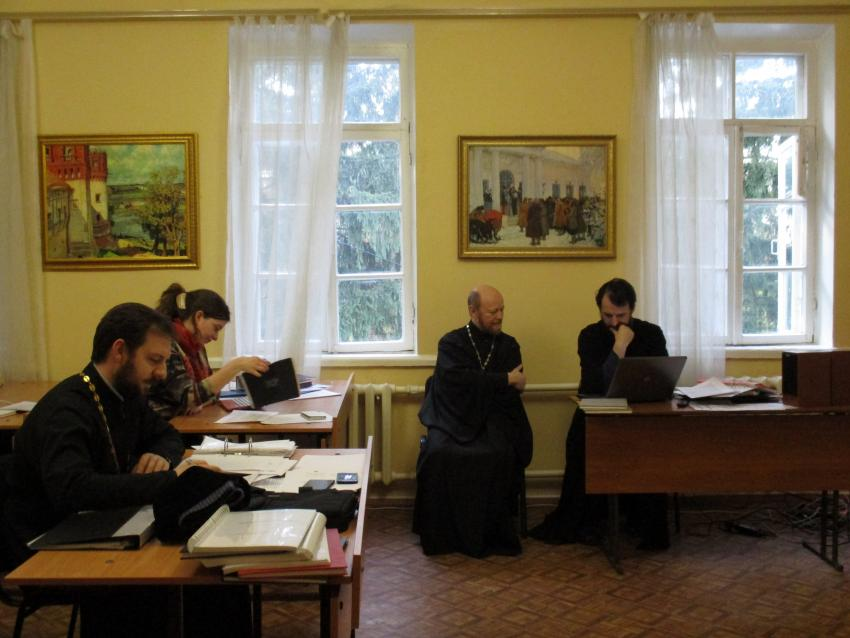 Учебный Комитет проинспектировал Курскую духовную семинарию