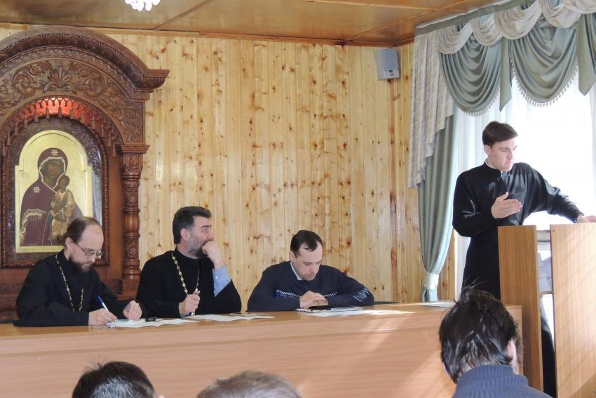 В семинарии состоялась студенческая конференция